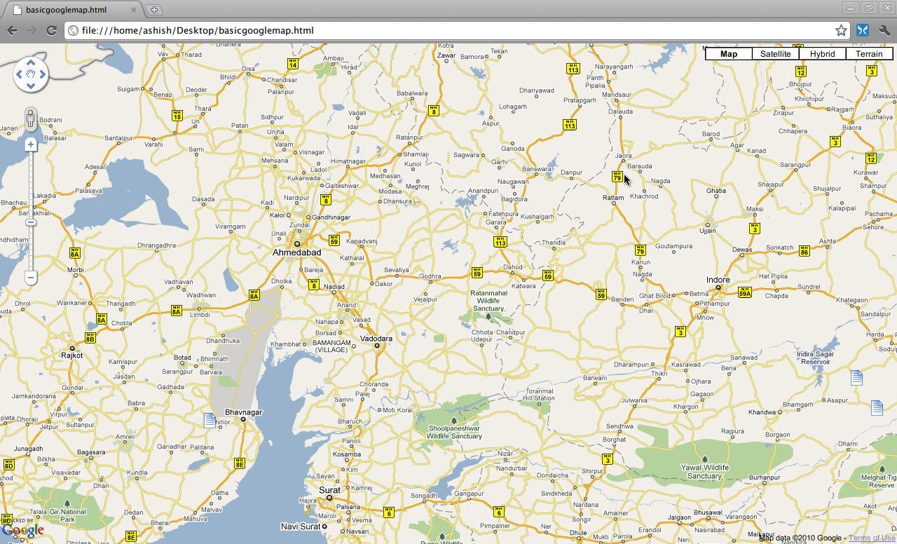 Google Maps JavaScript API Making Your Website Livelier Open - Show google map using latitude and longitude javascript
