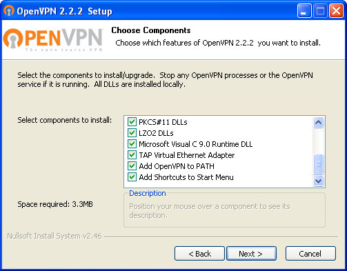 OpenVPN set-up options