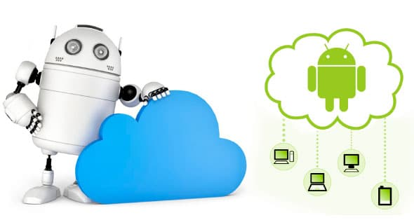 Robot-and-cloud-computing