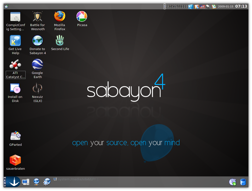 Sabayon 4: Is It Ready For You? - Open Source For You