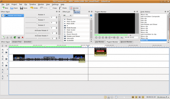 Figure 6: Rendering the video