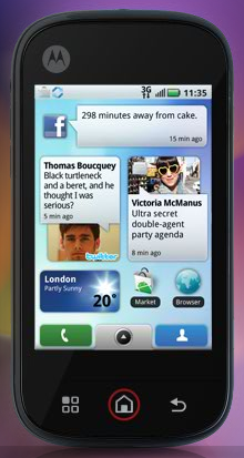 MOTOBLUR – The Latest Android Based Social Media Monster