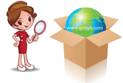Open box and Globe