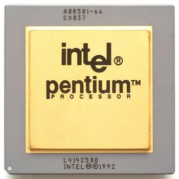 Buggy Pentium processor