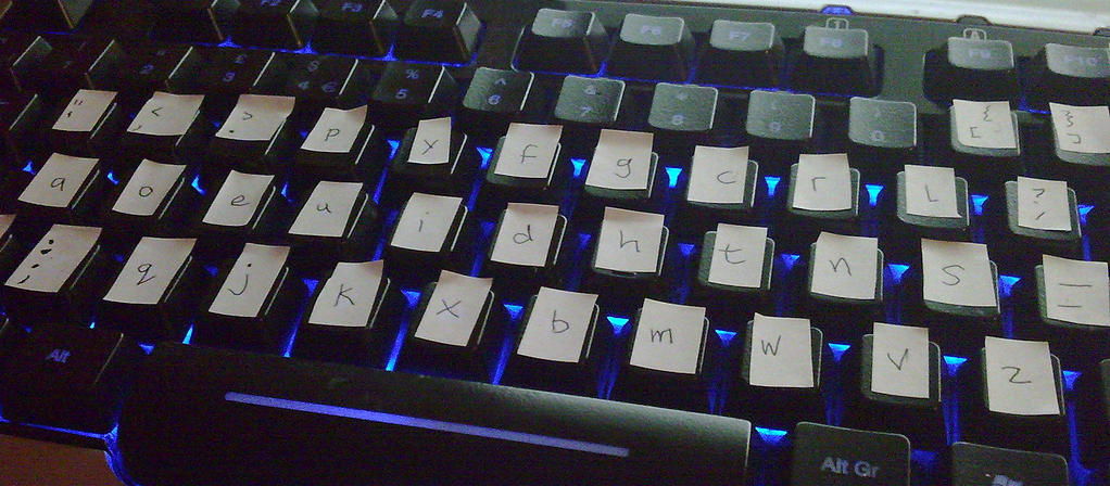 The Dvorak keyboard