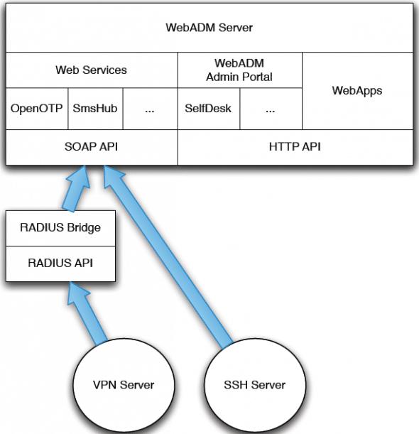 The suite components