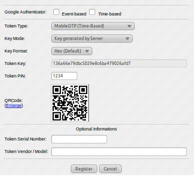 Token registration