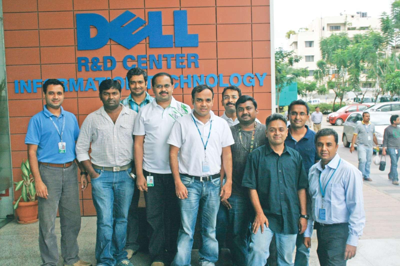 Dell India R&D Centre team