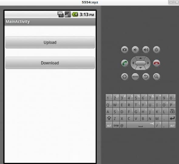 figure 2 - Dropbox App