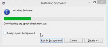 Figure 14 Installing Software