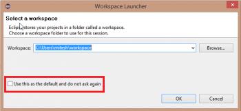 Figure 3 Workspace Launcher