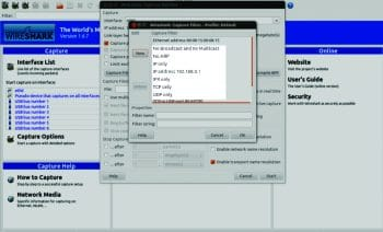 Screenshot5 Wireshark Capture Filter