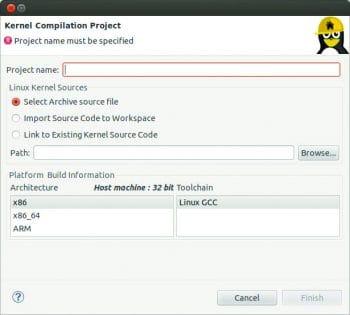 Figure 1-Kernel Compilation Project