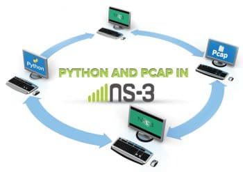 Pcap and python in NS3