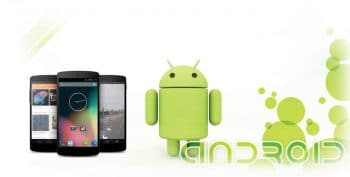 smartphone with android