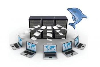 Database transfering illustration