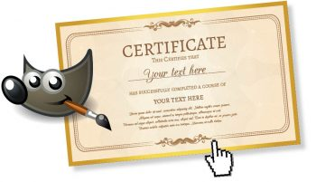 Gimp with certificate