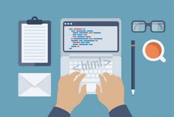 typing programming html