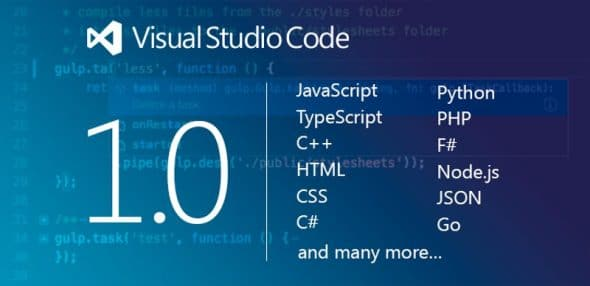 Visual Studio Code 1.0