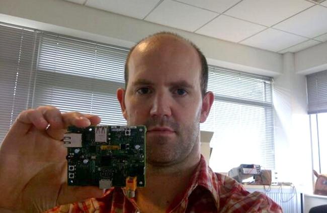 Raspberry Pi creator Eben Upton
