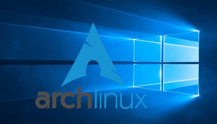 Arch Linux on Windows 10