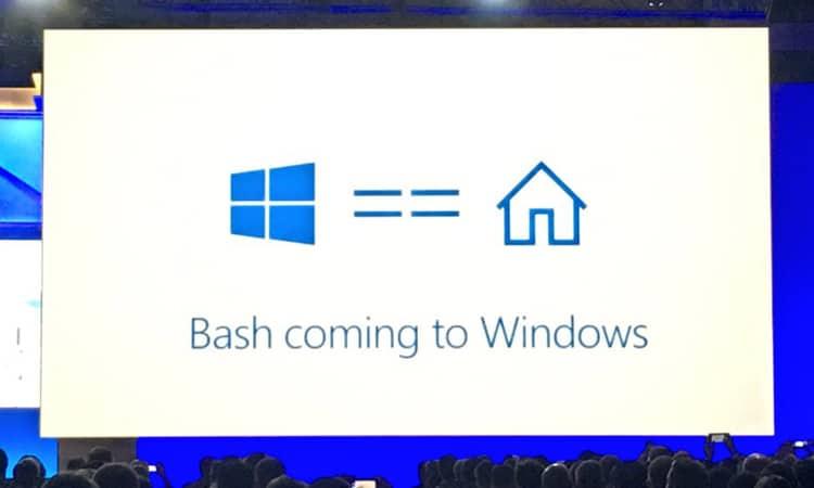 Bash on Windows