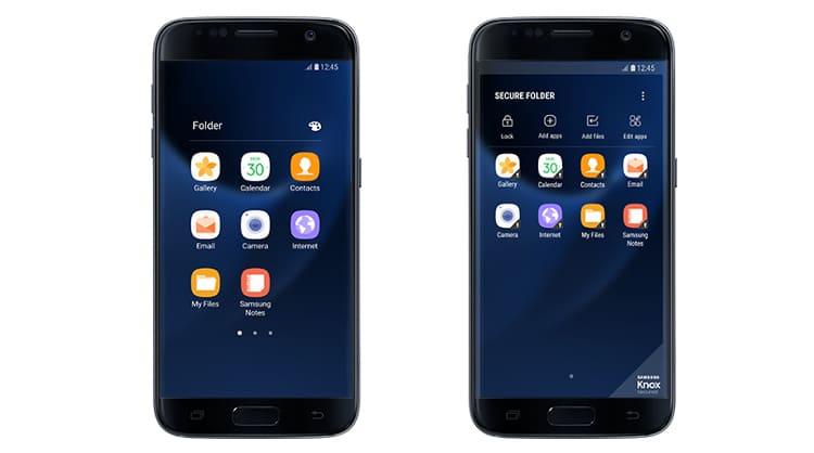 Samsung Secure Folder app