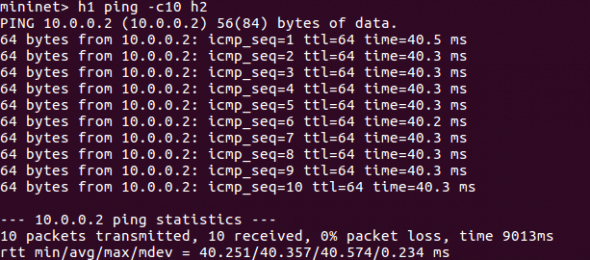 Delay induced ping