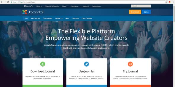 Joomla Tool for Building Websites