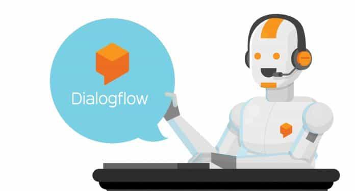 Robot DialogFlow chatbot