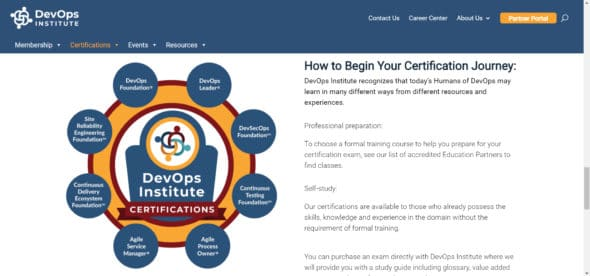 DevOps Institute certifications