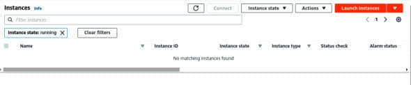 Launch your first instance