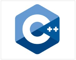 The logo of C++ adopted by ISO