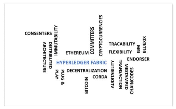 Salient features of blockchain, DLT and Hyperledger Fabric