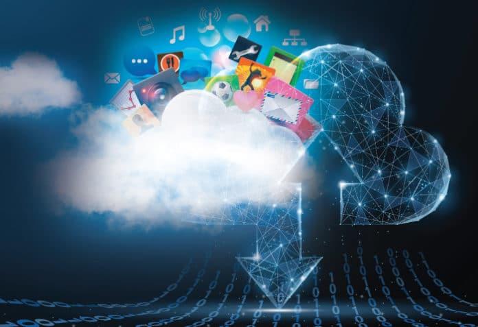 cloud storage illustration