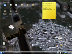 Plasmoids on Mandriva KDE desktop