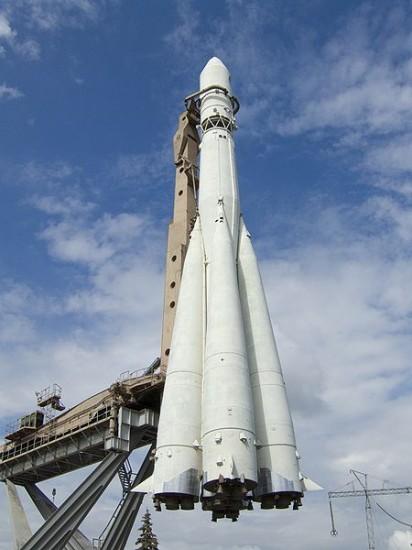 Figire 1: The Russian R7 launch rocket vehicle for Sputnik