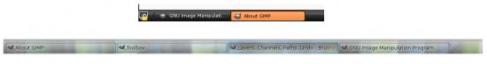 Figure 4: A comparison of GNOME and KDE panel behaviour